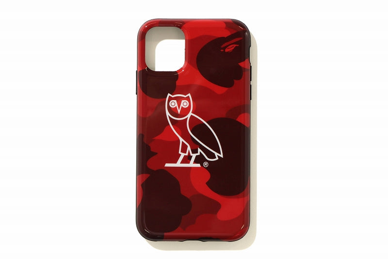 A BATHING APE x OCTOBER'S VERY OWN OVO BAPE COLOR CAMO iPhone 11 PRO CASE