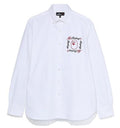 A BATHING APE MR. BATHING APE EMBROIDERY BD SHIRT - happyjagabee store