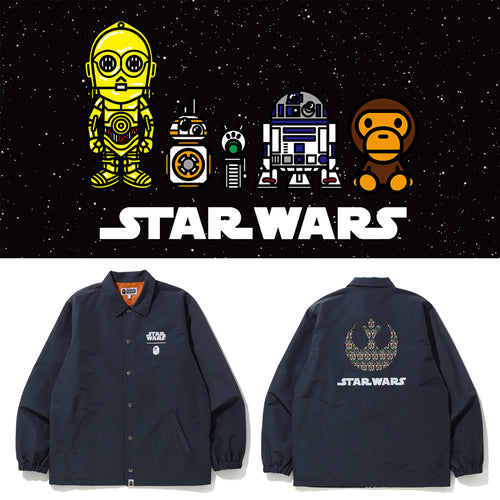 A BATHING APE STAR WARS x BAPE REPUBLIC COACH JACKET - happyjagabee store