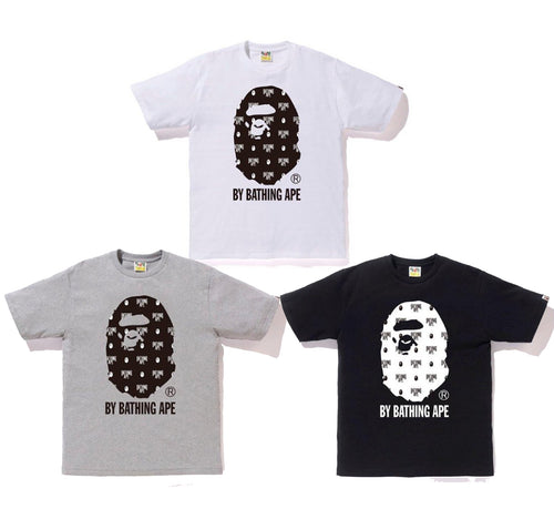 A BATHING APE MONOGRAM BY BATHING TEE