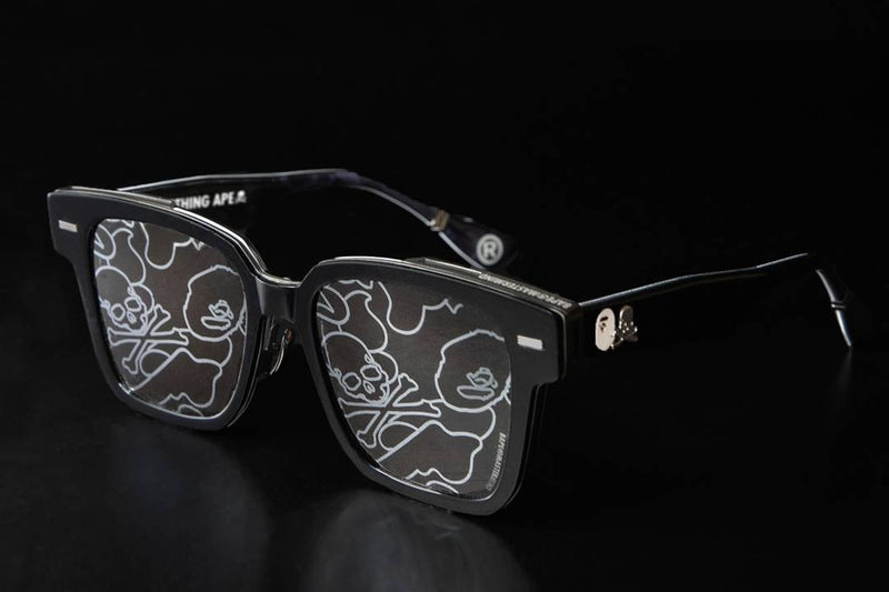 A BATHING APE x mastermind JAPAN EYEWEAR 2nd COLLECTION SUNGLASSES 4 BMJ004
