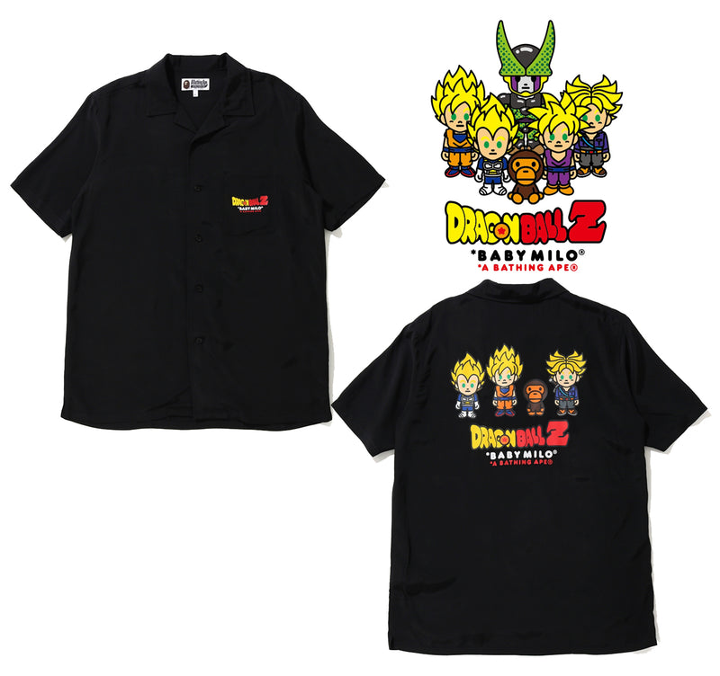 BAPE x DRAGON BALL Z BABY MILO SUPER SAIYAN S/S SHIRT