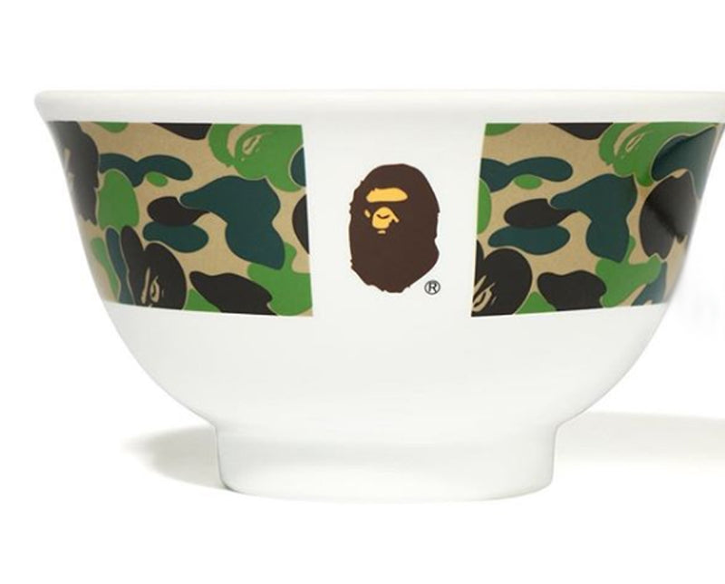 A BATHING APE ABC CAMO JAPANESE RICE BOWL - happyjagabee store