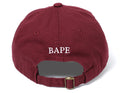 A BATHING APE APE HEAD EMBROIDERY PANEL CAP - happyjagabee store