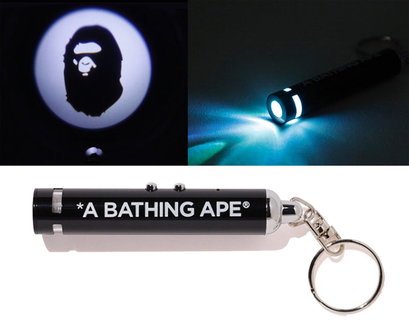A BATHING APE BAPE PROJECTOR LIGHT KEYCHAIN - happyjagabee store