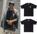 A BATHING APE LOGO TAPE TEE - happyjagabee store