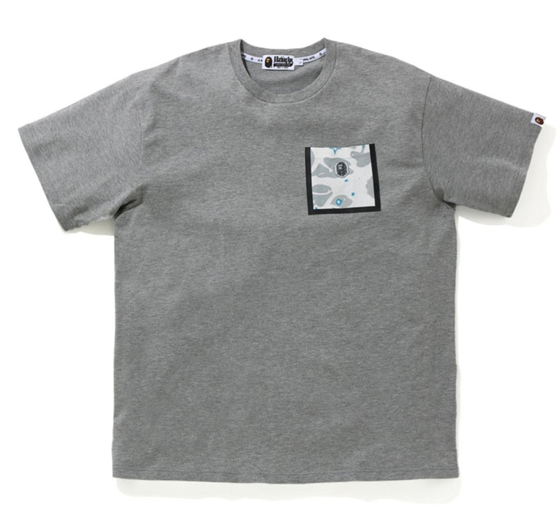 A BATHING APE RELAXED SPACE CAMO POCKET TEE - happyjagabee store