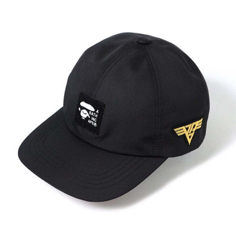 A BATHING APE PATCHED PANEL CAP - happyjagabee store