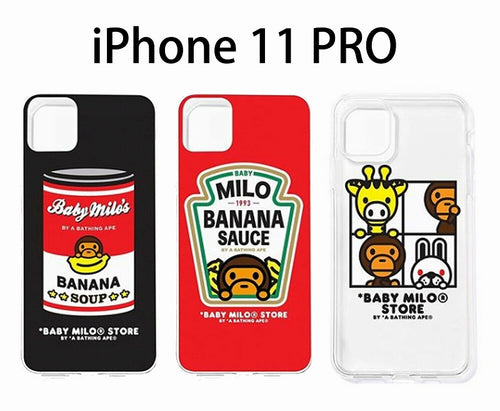 A BATHING APE BABY MILO STORE iPhone SOFT CASE For iPhone11pro