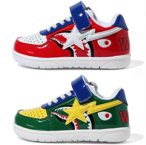 A BATHING APE BAPE KIDS SHARK BAPE STA - happyjagabee store