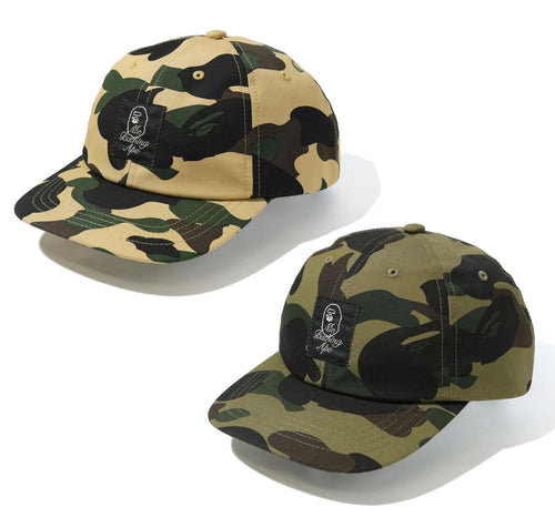 A BATHING APE Mr. BATHING APE 1ST CAMO CAP