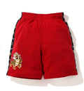 A BATHING APE TIGER WIDE JERSEY SHORTS - happyjagabee store