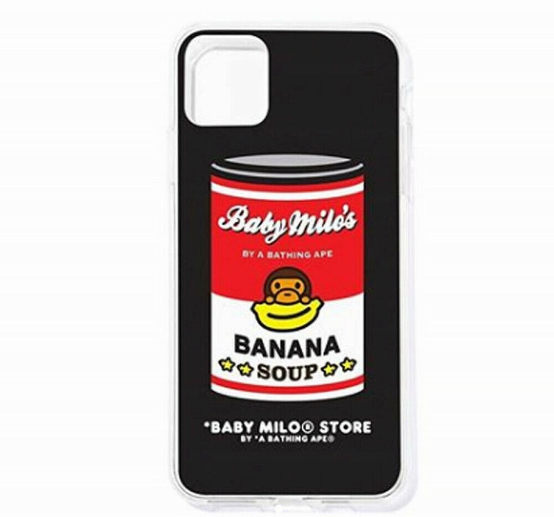 A BATHING APE BABY MILO STORE iPhone SOFT CASE For iPhone11pro - happyjagabee store