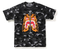 A BATHING APE GRADATION CAMO TIGER TEE - happyjagabee store
