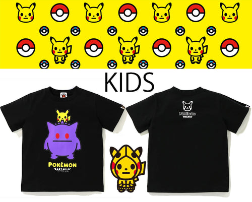 Copy of A BATHING APE BAPE KIDS Pokemon COLLECTION POKEMON TEE #8