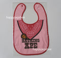 A BATHING APE KIDS BABY MILO FAKE BANDANA BIB