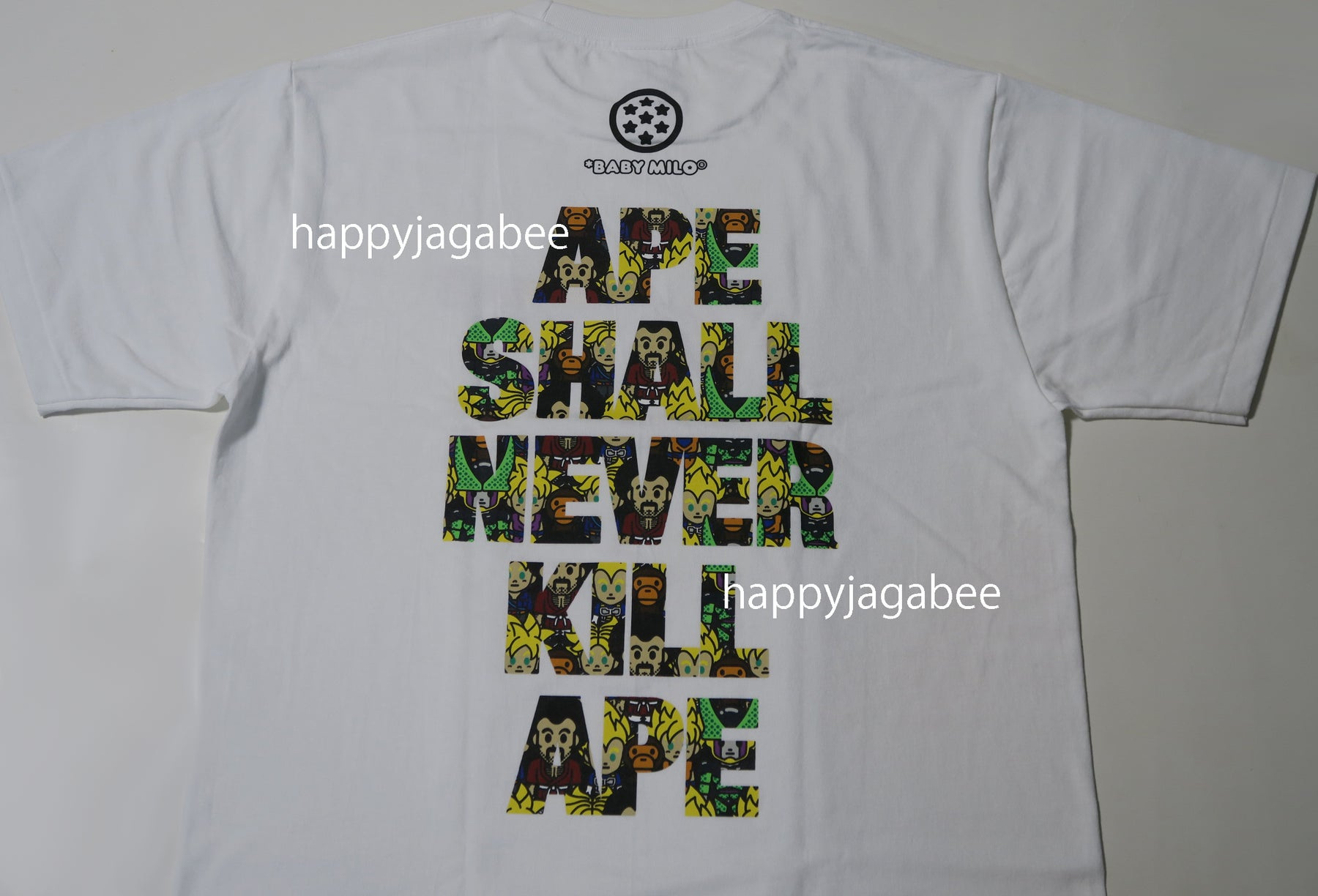 b9cf272f A BATHING APE COLOR CAMO SIDE BIG APE HEAD TEE – happyjagabee store