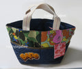 A BATHING APE LADIES' ABC CAMO FLOWER TOTE BAG