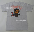 A BATHING APE BABY MILO ROCK GUITAR TEE
