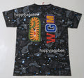 A BATHING APE LADIES' SPACE CAMO SHARK TEE