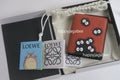 LOEWE x Studio Ghibli Japanese Animation Totoro Dust Bunnies Compact Zip Wallet
