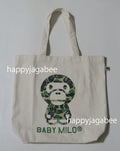 A BATHING APE Ladies' ABC CAMO MILO TOTE BAG