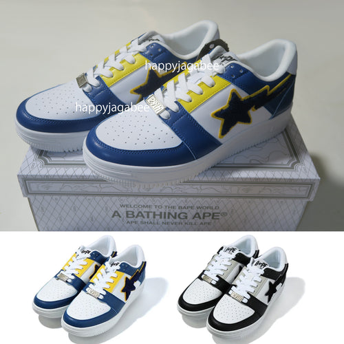 A BATHING APE PATCHED BAPE STA LOW