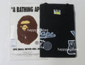 A BATHING APE MULTI EMBLEM TEE