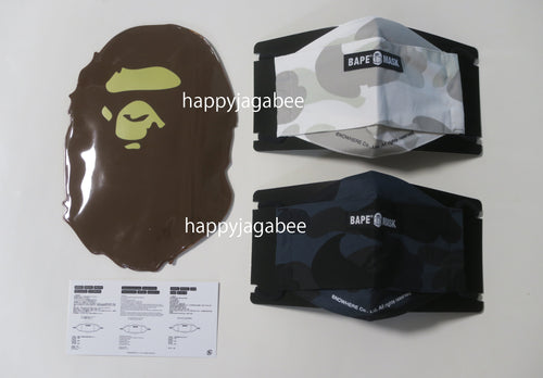 A BATHING APE MR CAMO MASK
