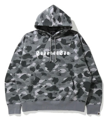 A BATHING APE COLOR CAMO LOOSE FIT PULLOVER HOODIE