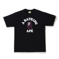 A BATHING APE COLOR CAMO COLLEGE TEE