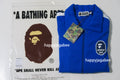 A BATHING APE LOGO TAPE JERSEY TRACK TOP - happyjagabee store