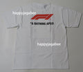 A BATHING APE × Formula 1 COLLECTION F1 BAPE PHOTO APE HEAD TEE - happyjagabee store