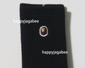 A BATHING APE APE HEAD ONE POINT SOCKS 3 PAIRS - happyjagabee store