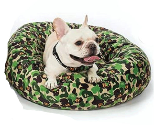A BATHING APE BABY MILO STORE PET BED Green - happyjagabee store