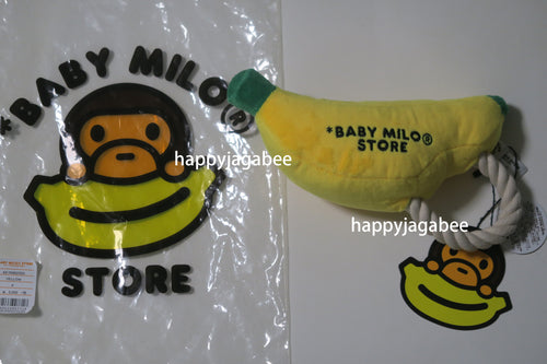 A BATHING APE BABY MILO STORE BANANA PLUSH DOLL PET TOY - happyjagabee store