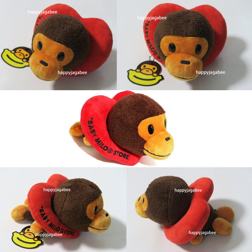 A BATHING APE BAPE BABY MILO STORE BABY MILO VALENTINE'S DAY PLUSH DOLL - happyjagabee store