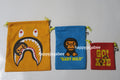 A BATHING APE KIDS BABY MILO POUCH 3P SET - happyjagabee store