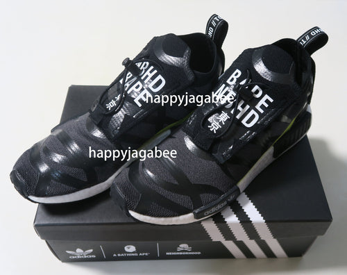 Sale! A BATHING APE adidas Originals by BAPE and NEIGHBORHOOD NHBAPE NMD STLT - happyjagabee store