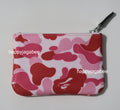 A BATHING APE ABC CAMO CANVAS WALLET(S) - happyjagabee store