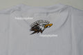 A BATHING APE EAGLE COLLEGE TEE - happyjagabee store