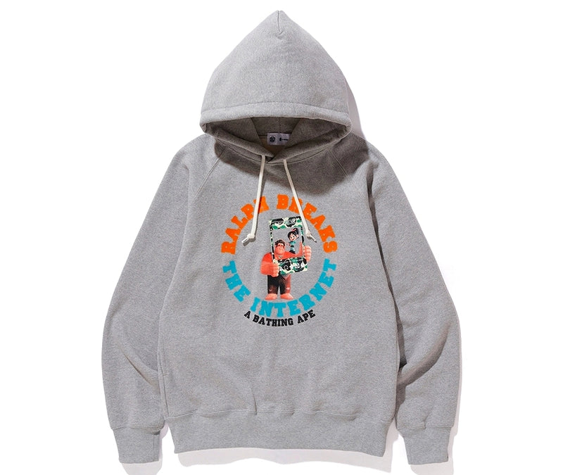 A BATHING APE x Ralph Breaks the Internet PULLOVER HOODIE - happyjagabee store