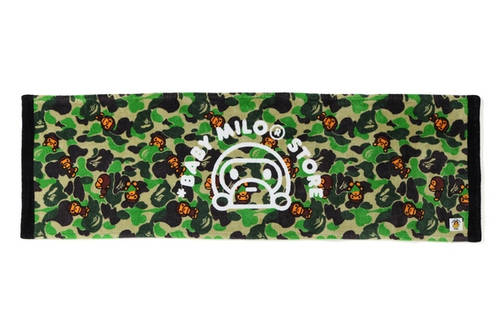 A BATHING APE BABY MILO STORE ABC MILO FACE TOWEL - happyjagabee store