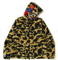 A BATHING APE 1ST CAMO SHARK HOODIE JACKET - happyjagabee store