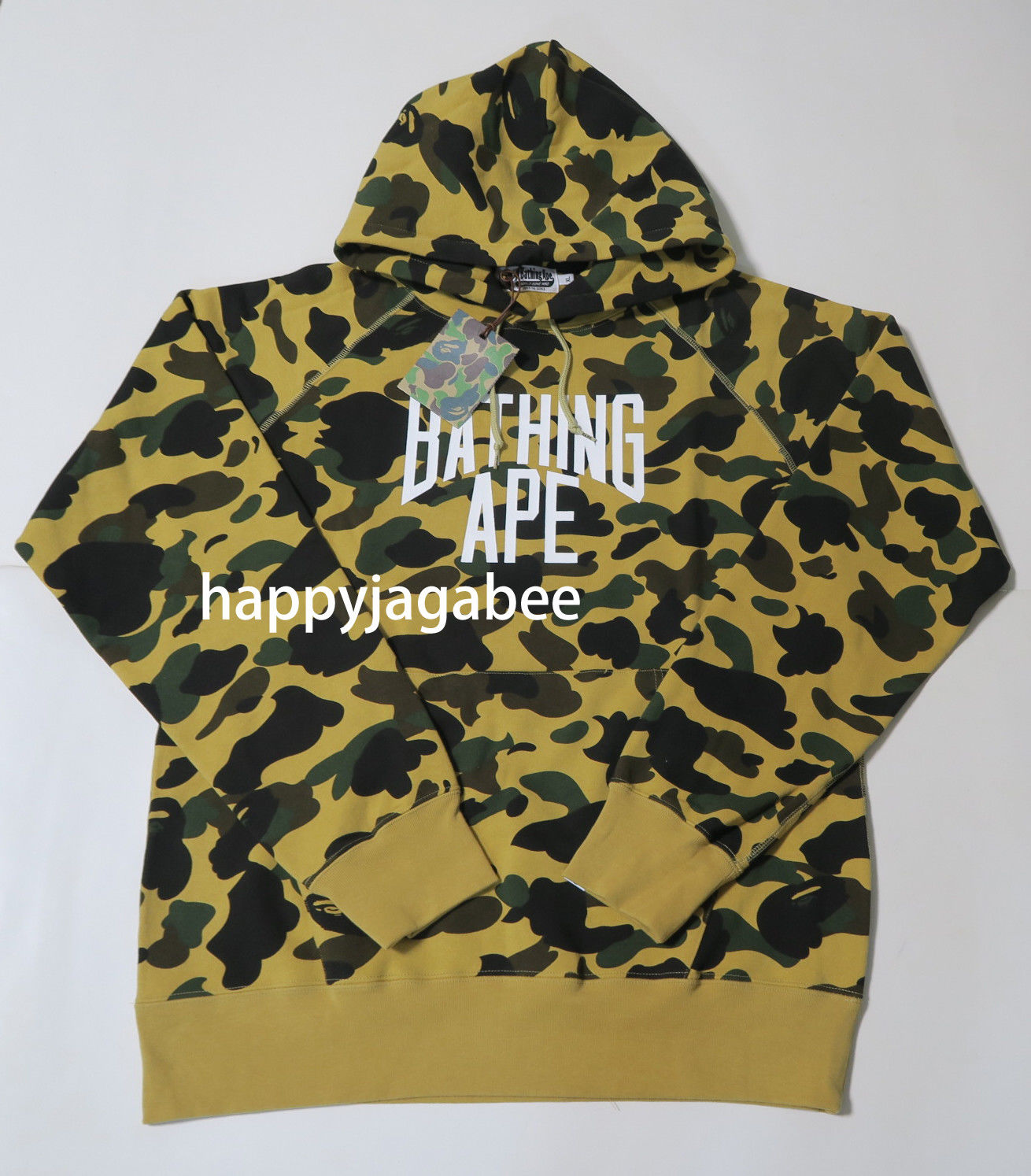 e15be0202566 ... A BATHING APE Men s 1ST CAMO NYC LOGO PULLOVER HOODIE - happyjagabee  store ...