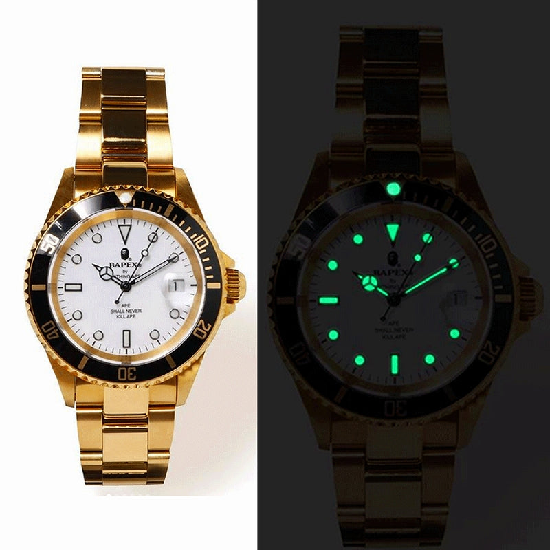A BATHING APE TYPE-1 BAPEX WATCH - happyjagabee store