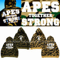 A BATHING APE 1st CAMO COLLEGE ATS PULLOVER HOODIE - happyjagabee store