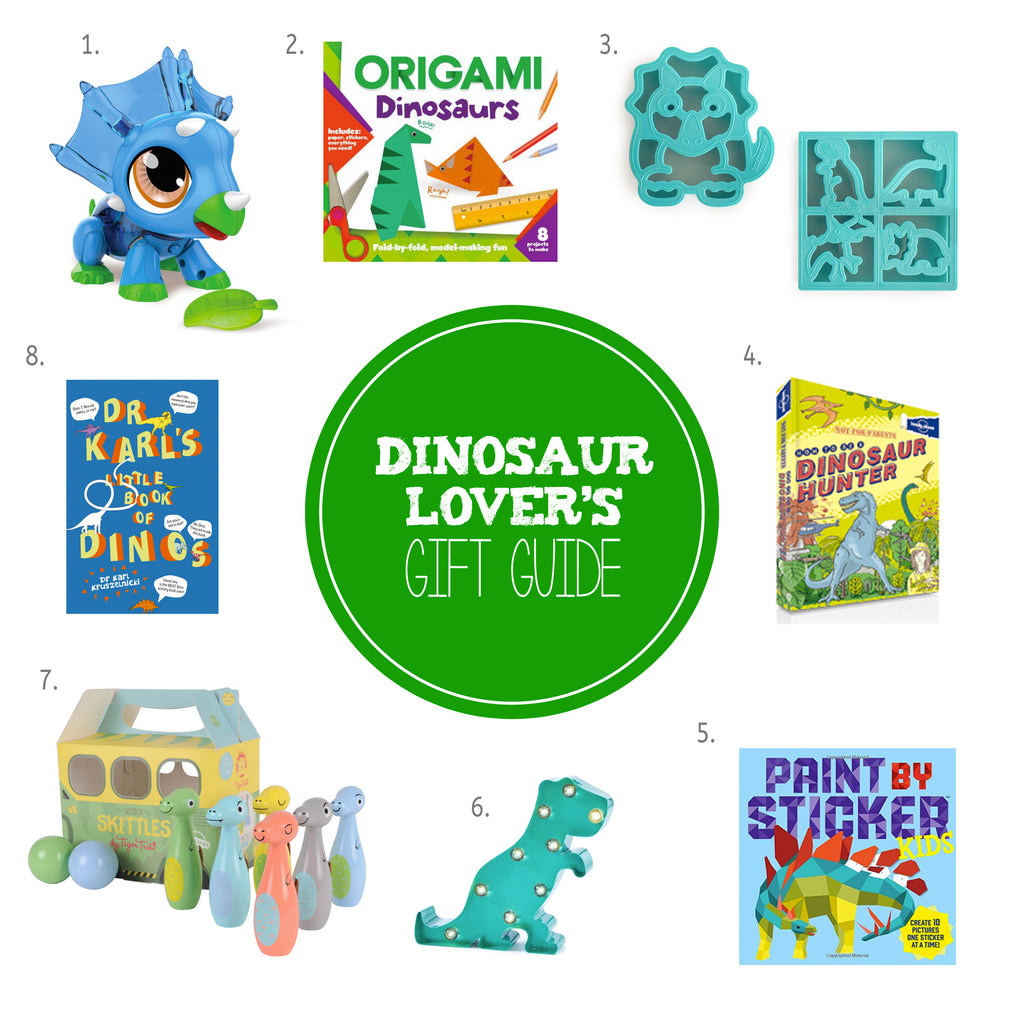 Christmas Gift Guides for Kids - Dinosaur Lovers