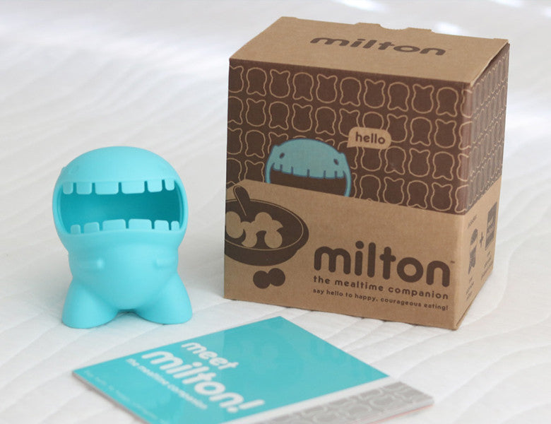 Introducing Milton the Mealtime Companion!