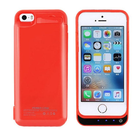 Battery Charger Case For IPhone 5 5S 5c SE - 4200mAh